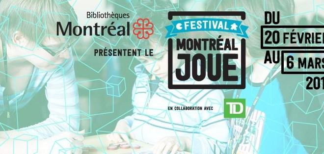 Montréal joue 2016 - banner