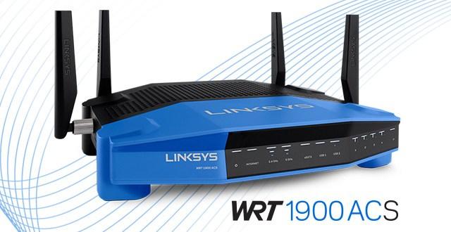 LINKSYS WRT1900ACS - Banner