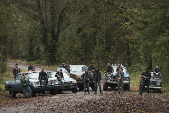The Walking Dead S06E16 - Negan Group