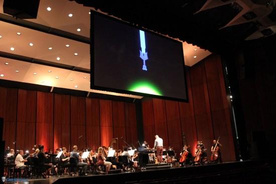 L'orchestre symphonique et la chorale en pleine répétition | The Legend of Zelda Symphony of the Goddesses