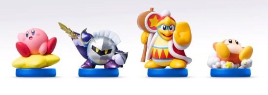 Amiibo compatibles avec le jeu Kirby Planet Robobot