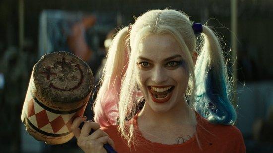 Margot Robbie en Harley Quinn