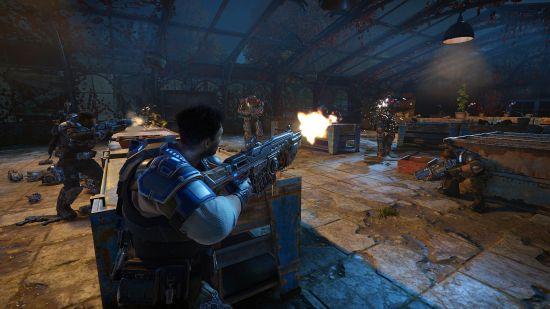 """Le jeu reprend le style """"tir et couverture"""" qui a rendu la série célèbre   Gears of War 4"""