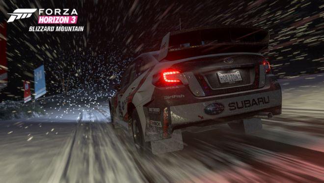 De nouvelles conditions météo vous attendent dans Blizzard Mountain, comme des tempêtes de neige