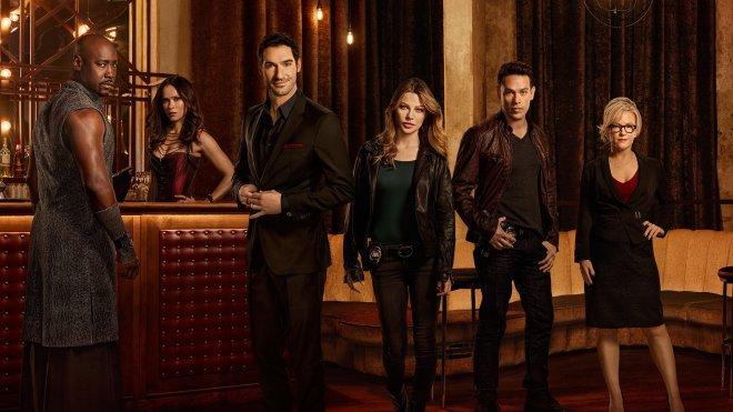 Les personnages principaux de la série Lucifer