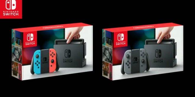 Nintendo Switch : Tout ce qu'il faut savoir!