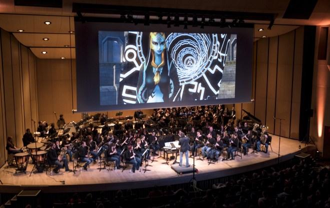 Le concert Zelda de l'OVMF le dimanche 20 novembre 2016 à Montréal. LA PRESSE CANADIENNE Paul Chiasson