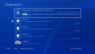 PlayStation 4 Sasuke - notifications