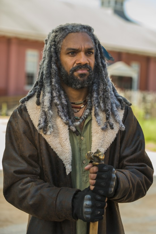 Ezekiel (Khary Payton) - The Walking Dead Saison 7 Épisode 9 - Photo: Gene Page/AMC