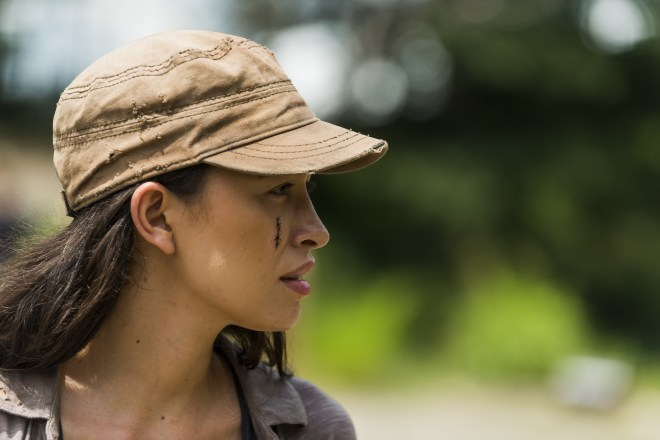 Rosita Espinosa (Christian Serratos) - The Walking Dead Saison 7 Épisode 9 - Photo: Gene Page/AMC