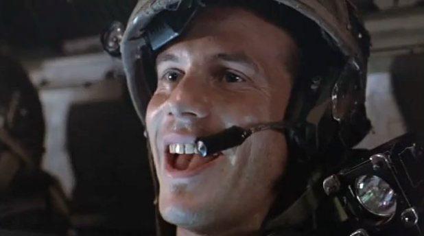 Bill Paxton dans le rôle de Hudson, personnage marquant du classique de science-fiction, Aliens