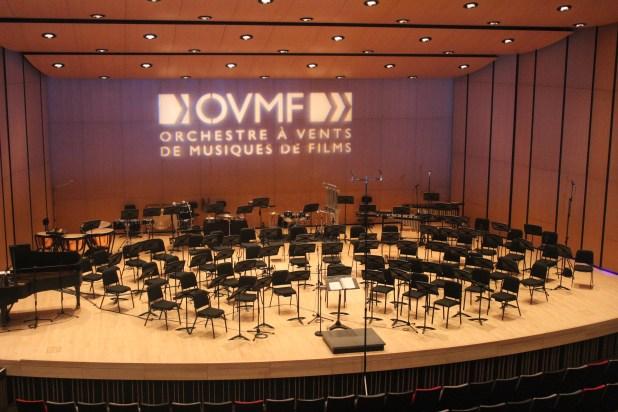 La Salle Marguerite Bourgoys était parfaire pour le Concert Star Trek de l'OVMF