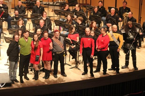 Les membres de X-Men Montréal étaient présents pour le concert Star Trek