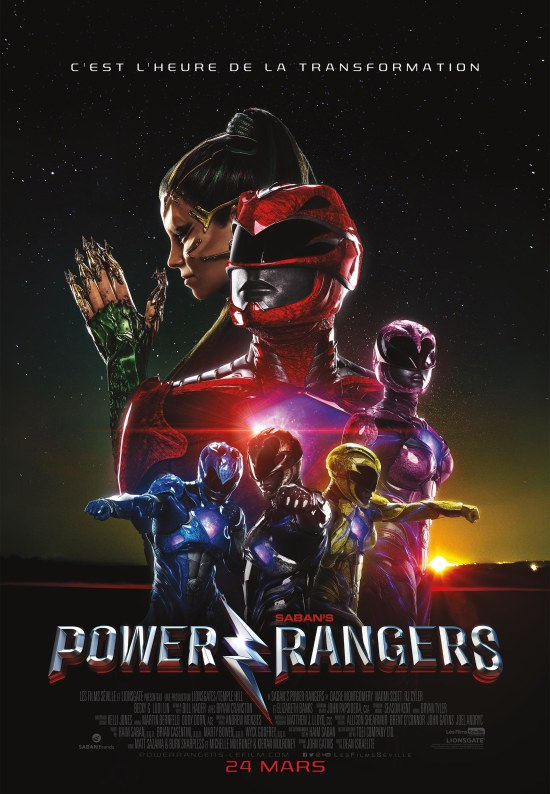 Power Rangers le film