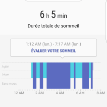 Rapport sommeil 01 | S Health