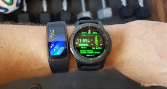 Samsung Gear S3 VS Gear Fit2