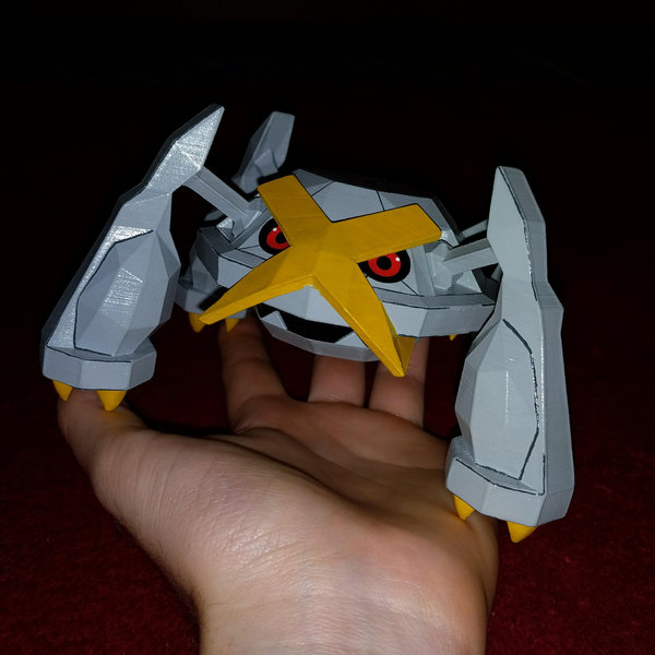 metagross 3d printed and