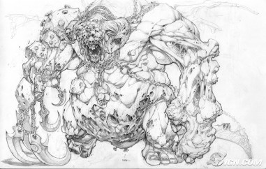 Darksiders Concept Art by Joe Madureira
