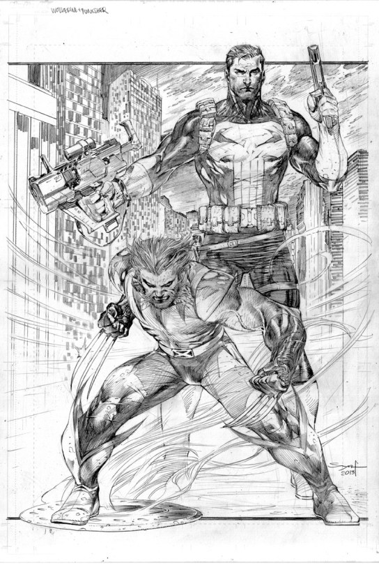 Ardian Syaf Pencils - Punisher   Wolverine