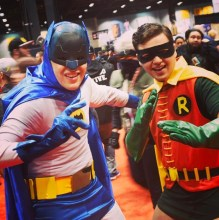 C2E2 2017 Cosplay - Batman & Robin
