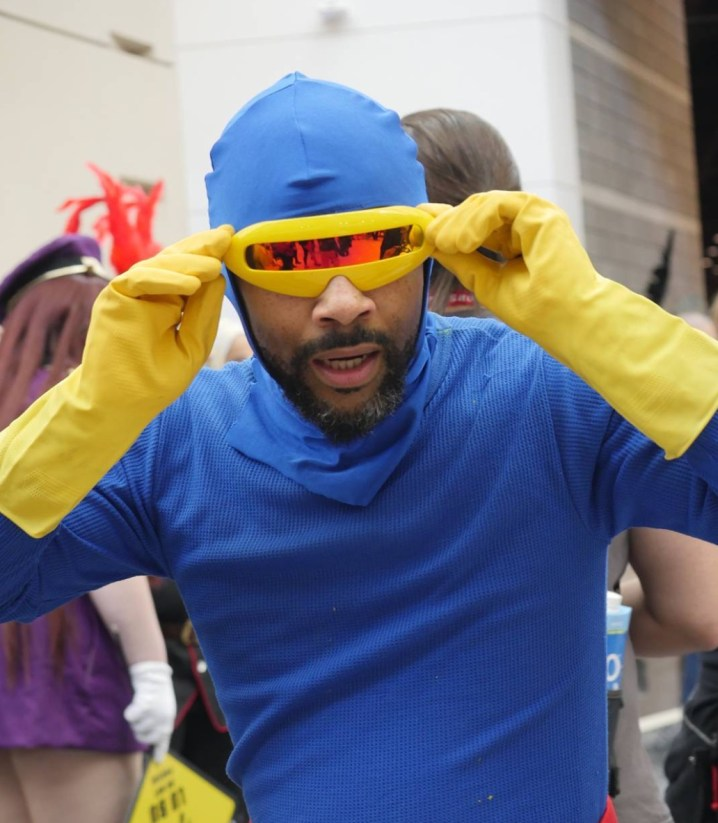 C2E2 2017 Cosplay - Cyclops