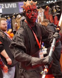 C2E2 2017 Cosplay - Darth Maul