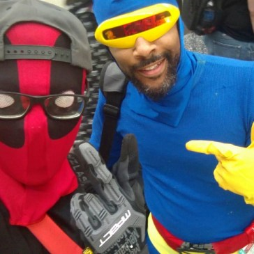 C2E2 2017 Cosplay - Deadpool | Cyclops