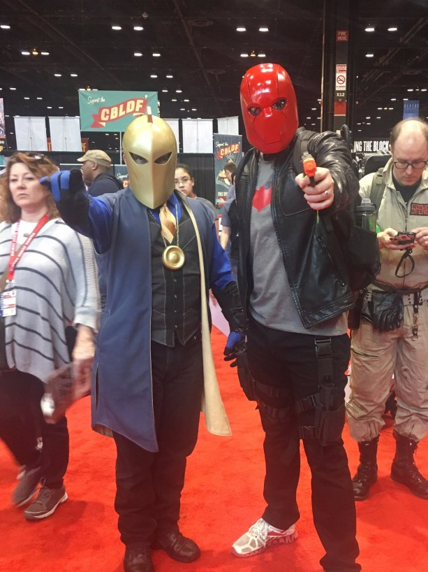 C2E2 2017 Cosplay - Dr. Fate | Red Hood