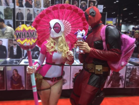C2E2 2017 Cosplay - Gwenpool | Deadpool