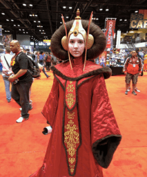 C2E2 2017 Cosplay - Queen Amidala