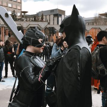 CalgaryExpo 2017 Cosplay - Batman | Catwoman 2