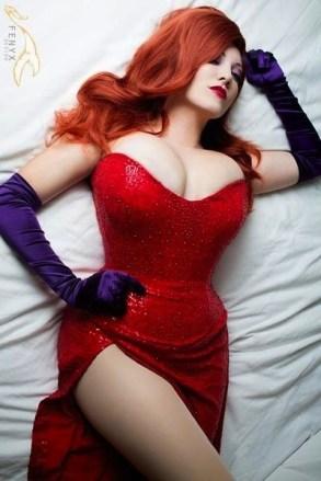 Jessica Rabbit Cosplay 37