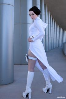 Princess Leia Cosplay 43