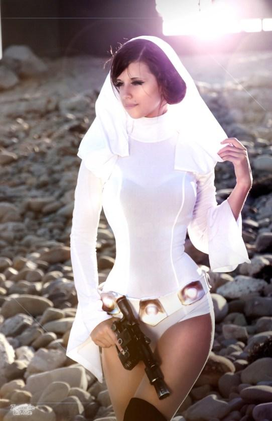 Princess Leia Cosplay 6
