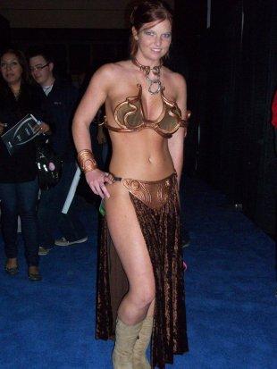 Slave Leia Cosplay 36
