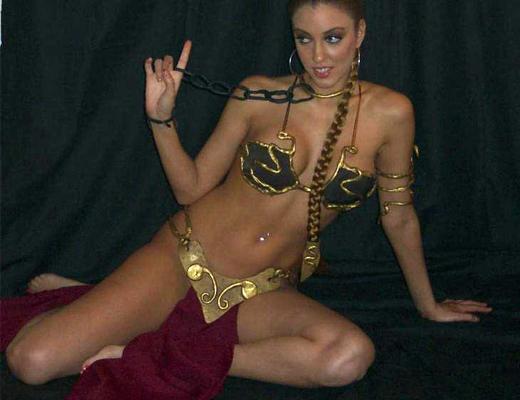 Slave Leia Cosplay 37