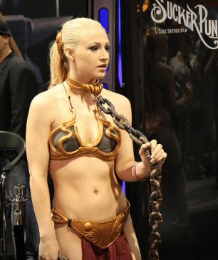 Slave Leia Cosplay 51