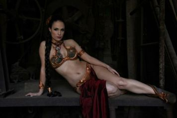 Slave Leia Cosplay 65