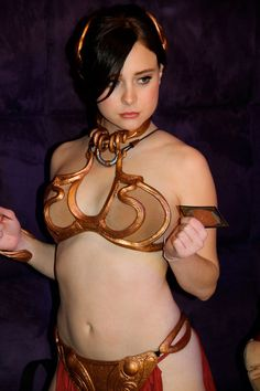 Slave Leia Cosplay104
