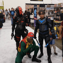 SVCC 2017 Cosplay - Red Hood   Nightwing