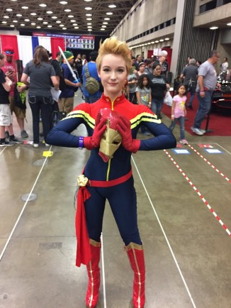WonderCon 2017 Cosplay - Captain Marvel