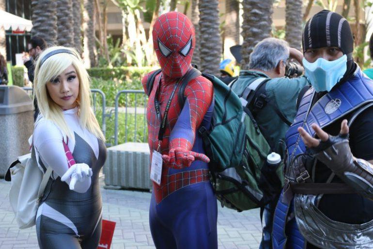 WonderCon 2017 Cosplay - Spider-Gwen   Spider-Man