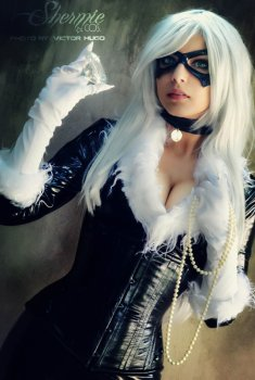 Black Cat by Shermie Cosplay 7