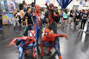 Comicpalooza 2017 - Spider-Men