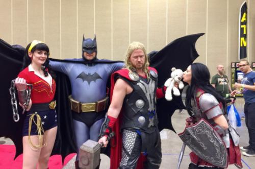 Wizard World Minneapolis 2017 - Bombshell Wonder Woman | Batman | Thor