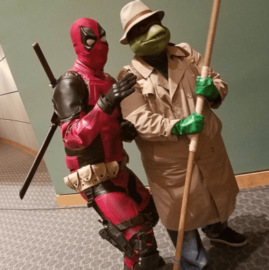 Wizard World Minneapolis 2017 - Deadpool | Donatello