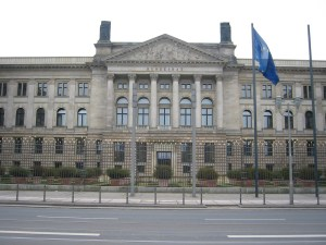 The Bundesrat building in Berlin.