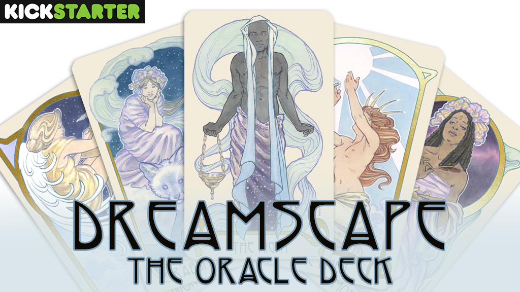 Ethereal Visions: Dreamscape Oracle Deck - New work from Matt Hughes