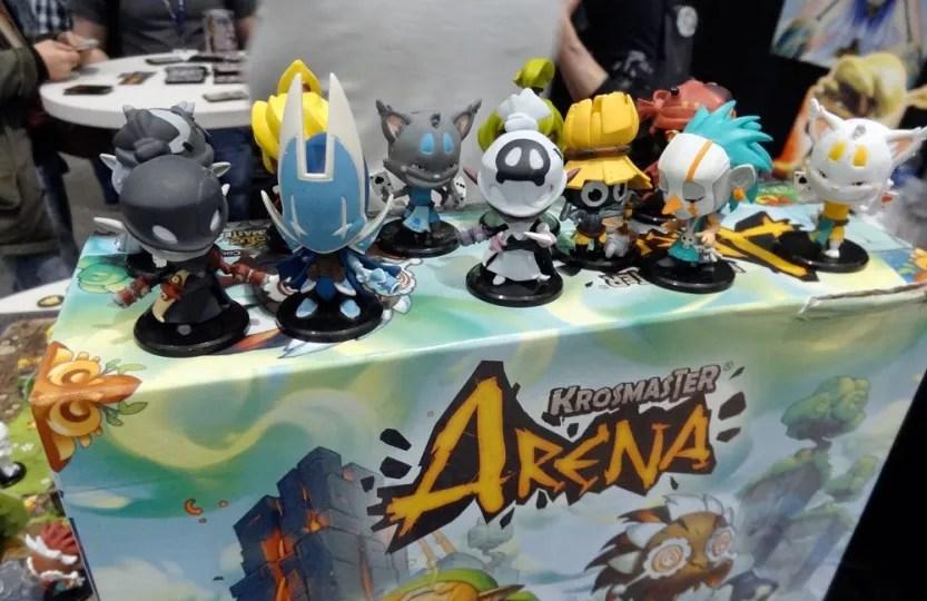 Krosmaster Arena miniatures
