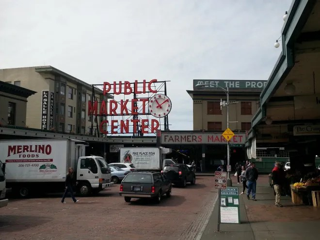 Pike Place Market. Photo: Jenny Williams